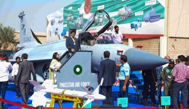 KARACHI: Visitors takes interest during visiting the 10th International Defence Exhibition and Seminar (IDEAS) 2018.INP PHOTO by S Akber