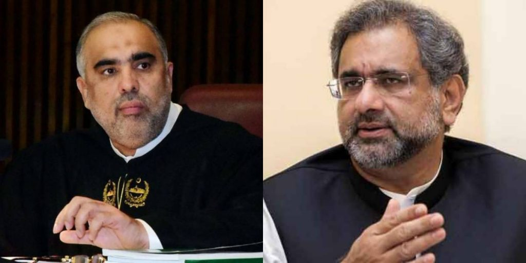 pml-n-s-shahid-khaqan-abbasi-threatens-na-speaker-to-hit-with-a-shoe-in-war-of-words-over-tlp-issue